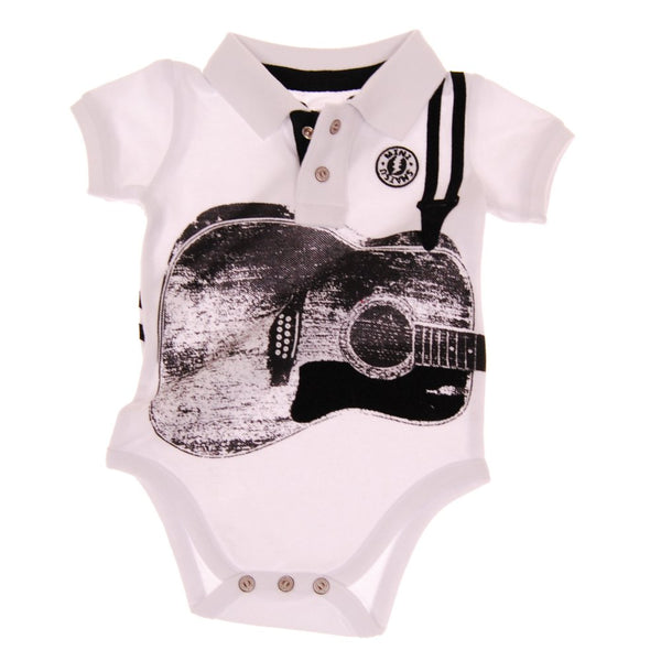 Acoustic Guitar Polo Bodysuit by: Mini Shatsu