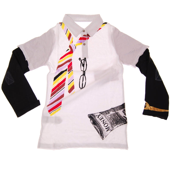 Young CEO Long Sleeve Polo Shirt by: Mini Shatsu