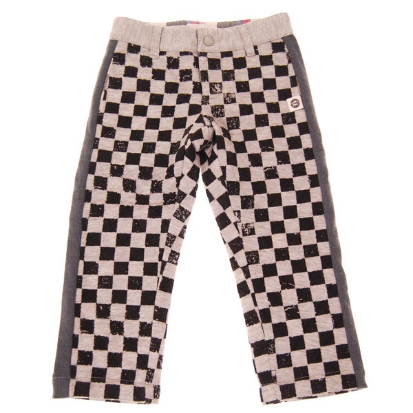 Quilted Checker Baby Pants by: Mini Shatsu