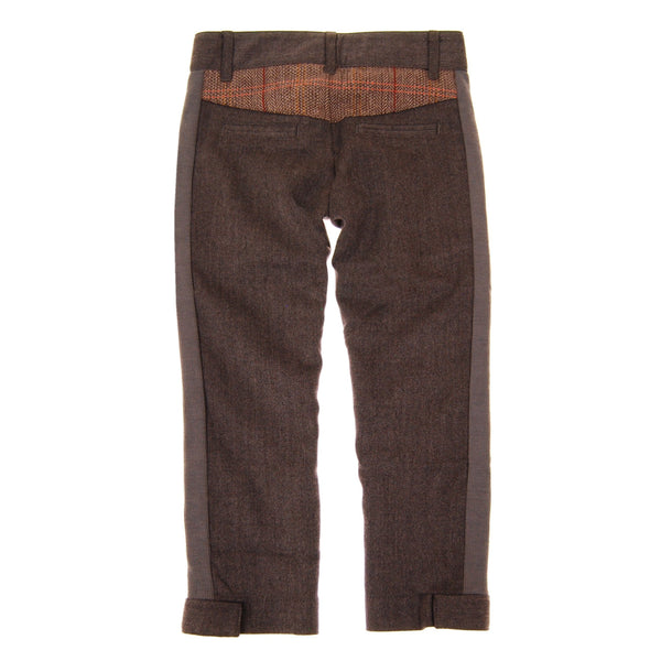 Herringbone-Tweed Baby Pants by: Mini Shatsu