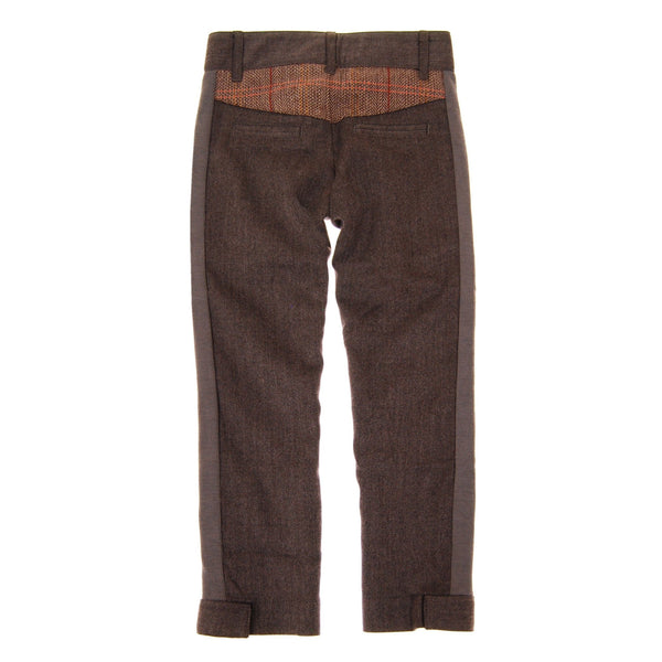 Herringbone-Tweed Pants by: Mini Shatsu