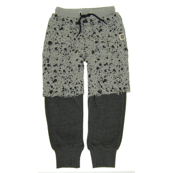 Paint Splatter Twofer Pants by: Mini Shatsu