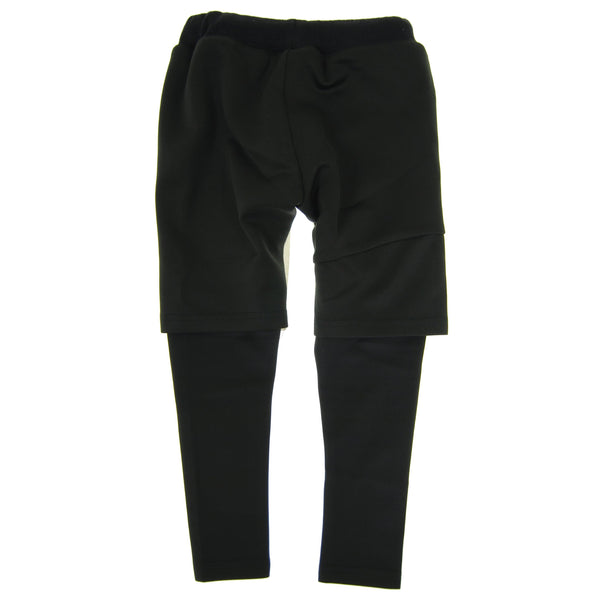 Black Twofer Pants by: Mini Shatsu