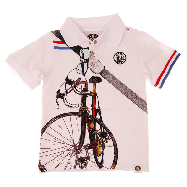 Cyclist Polo Shirt by: Mini Shatsu