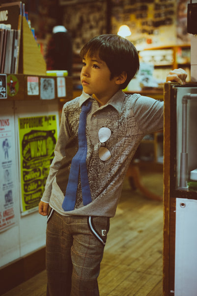 Real Tie Vest Polo Shirt by: Mini Shatsu