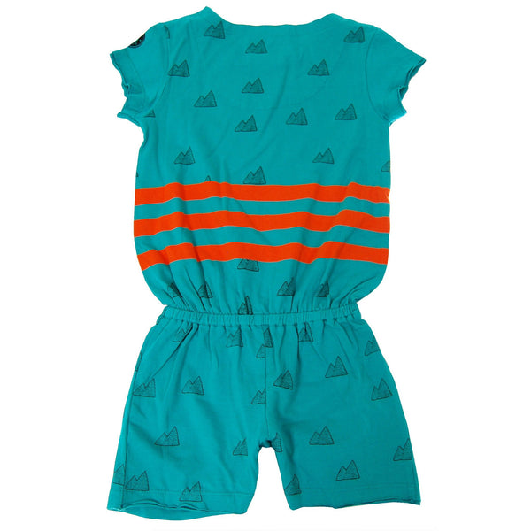 Take a Hike Girl Baby Romper by: Mini Shatsu