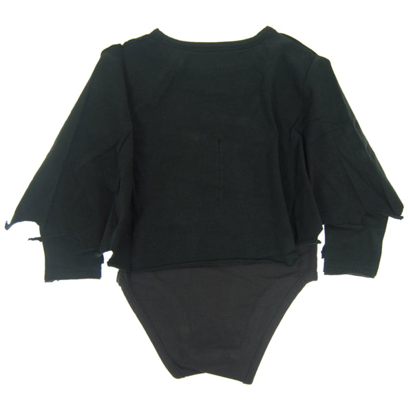 Flying Bat Caped Raglan Bodysuit by: Mini Shatsu