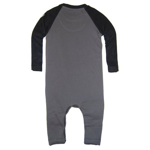 Drumsticks Sweatshirt Baby Romper by: Mini Shatsu