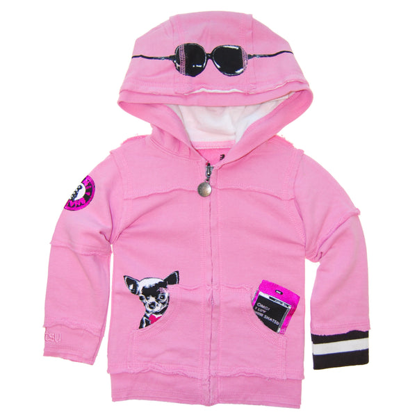 Fashionista Puppy Baby Hoody by: Mini Shatsu