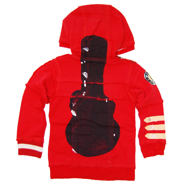 Singer Songwriter Guitar Baby Hoody by: Mini Shatsu