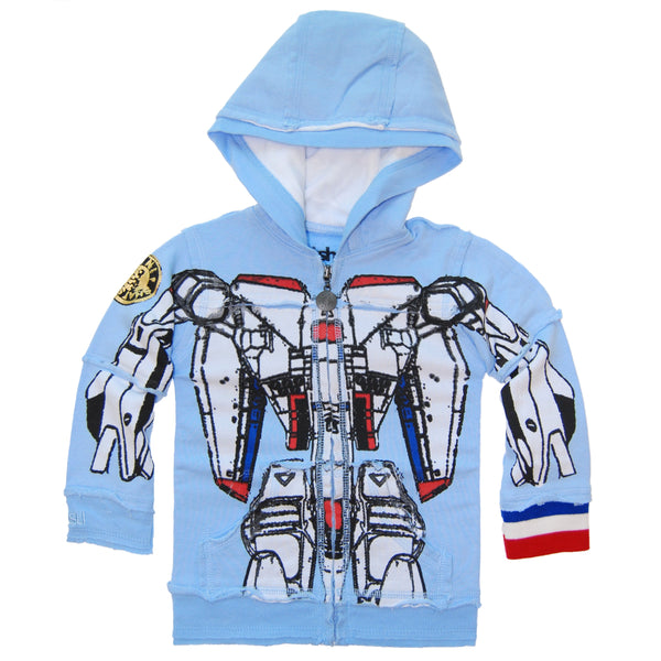 Robot Baby Hoody by: Mini Shatsu