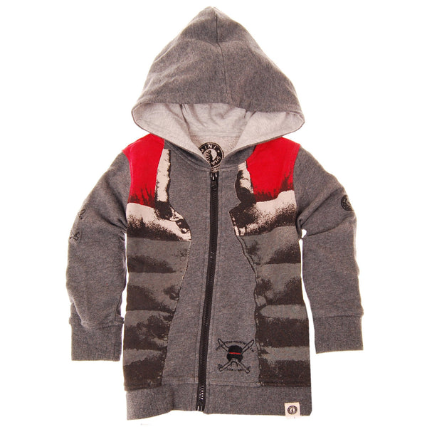 Puffy Vest Hoody by: Mini Shatsu