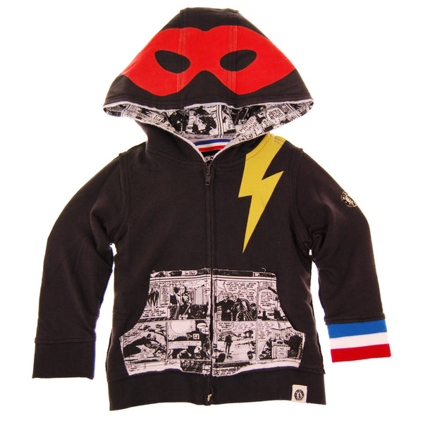 Super Hero Cape Baby Hoody by: Mini Shatsu