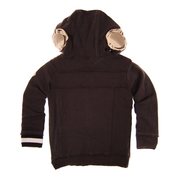 Tweed Headphones Hoody by: Mini Shatsu