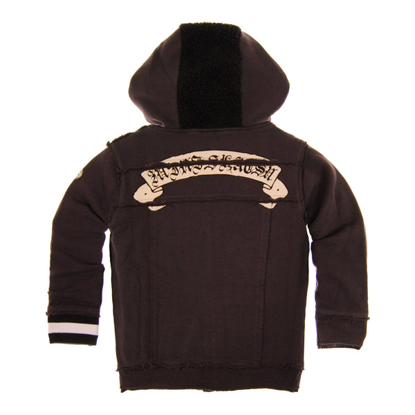 Mohawk Guitar Baby Hoody by: Mini Shatsu