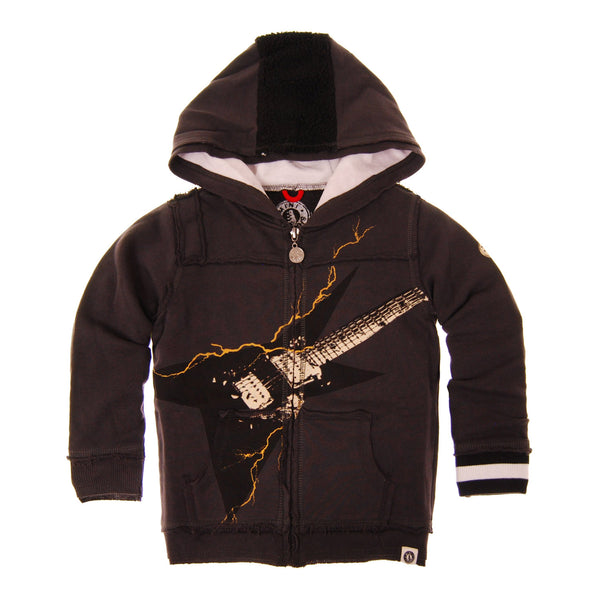 Mohawk Guitar Hoody by: Mini Shatsu