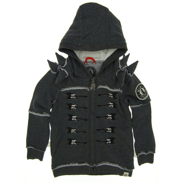 Sergeant Electric Guitar Spike Hoody by: Mini Shatsu