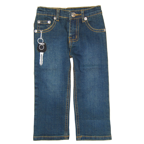 Speedster Blue Denim Jeans by: Mini Shatsu