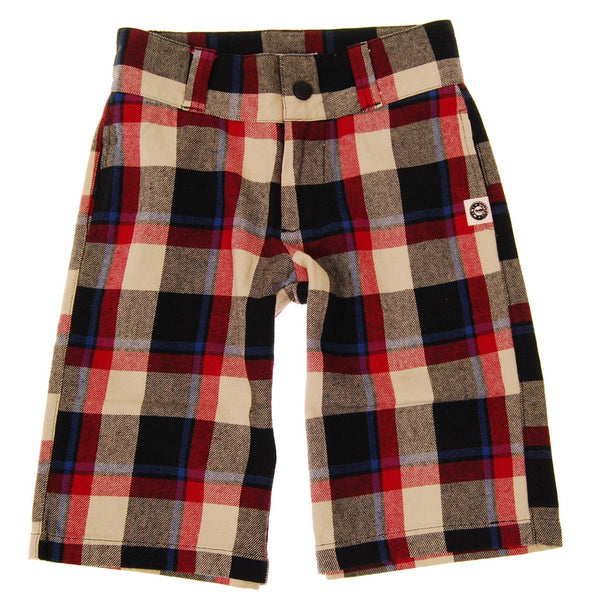 Plaid Pencil Shorts by: Mini Shatsu