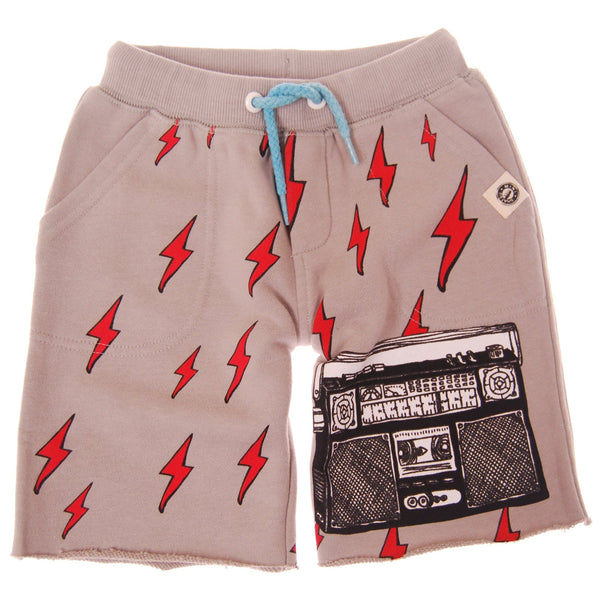 Boombox Lightning Shorts by: Mini Shatsu