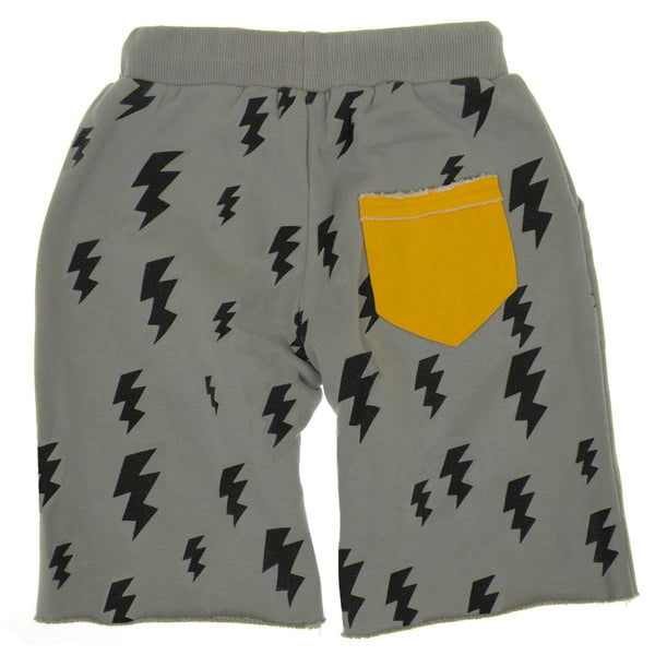 Lightning For Breakfast Baby Shorts by: Mini Shatsu