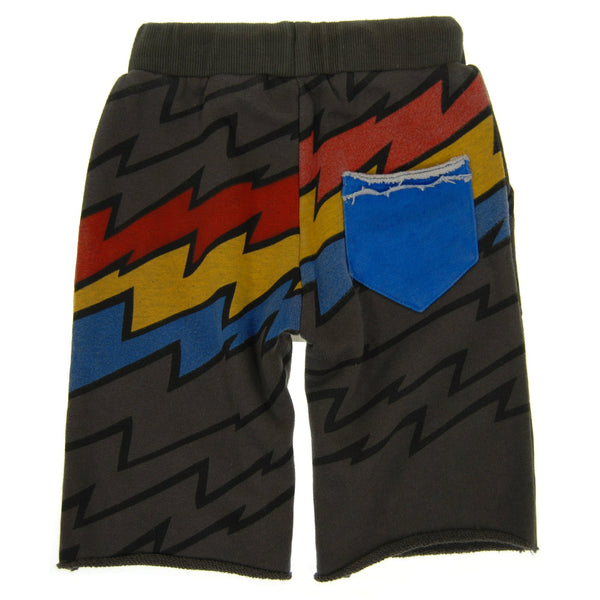 Lightning Speed Stripe Shorts by: Mini Shatsu