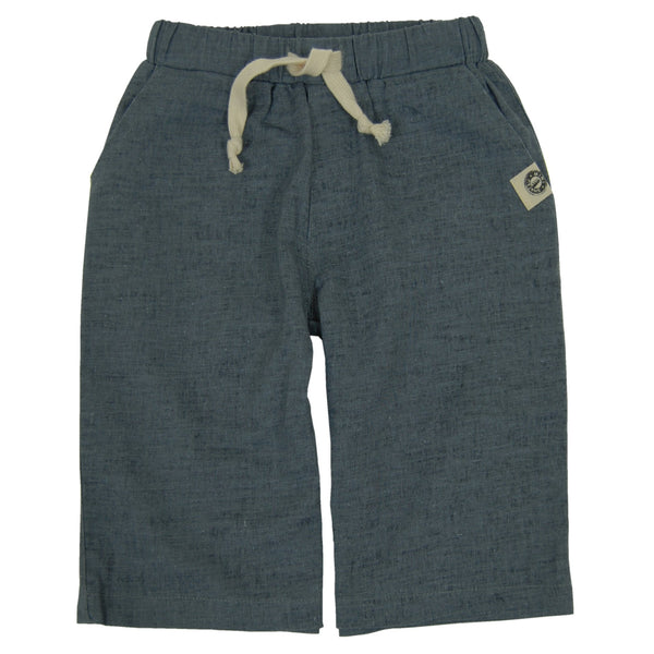Linen Grey Shorts by: Mini Shatsu