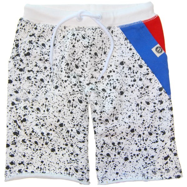 Vintage Splatter Baby Shorts by: Mini Shatsu