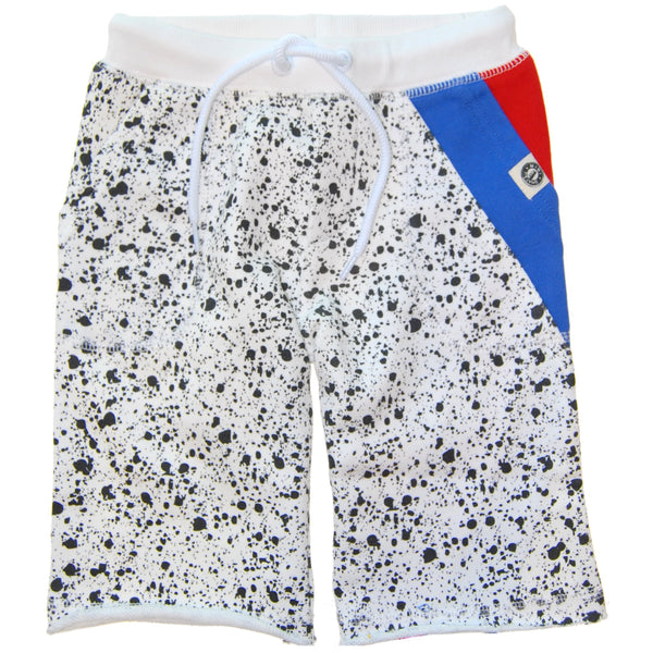 Vintage Splatter Shorts by: Mini Shatsu