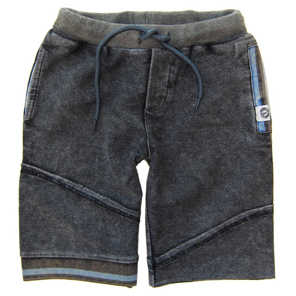 Charcoal Sweat Baby Shorts by: Mini Shatsu