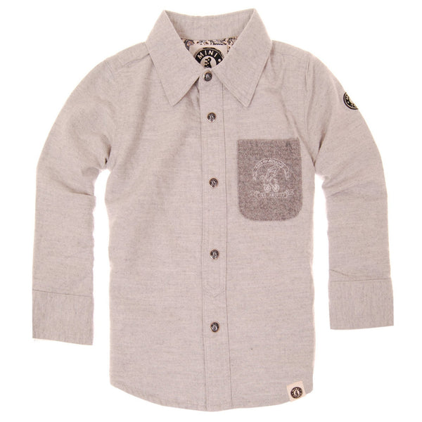 Pegasus Motorcycle Button Down Shirt by: Mini Shatsu