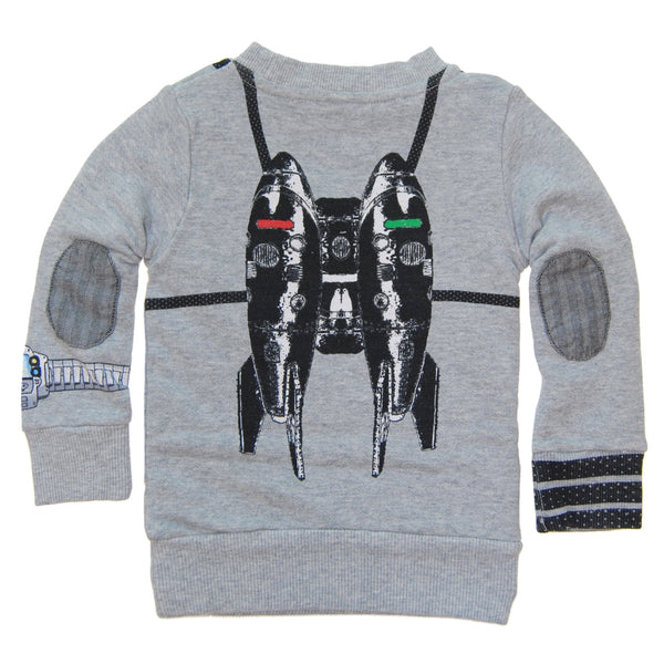 Spy Gadgets Baby Sweatshirt by: Mini Shatsu
