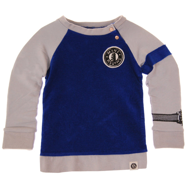 Wrist Watch Raglan Baby Sweatshirt by: Mini Shatsu