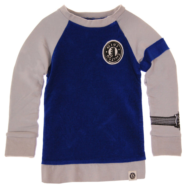 Wrist Watch Raglan Sweatshirt by: Mini Shatsu