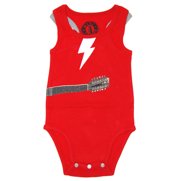 Lightening Guitar Tank Top Bodysuit by: Mini Shatsu