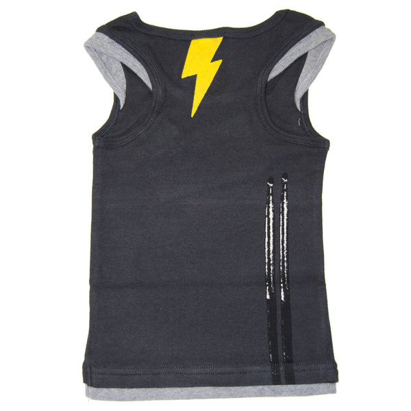 Drum Beater Tank Top Shirt by: Mini Shatsu