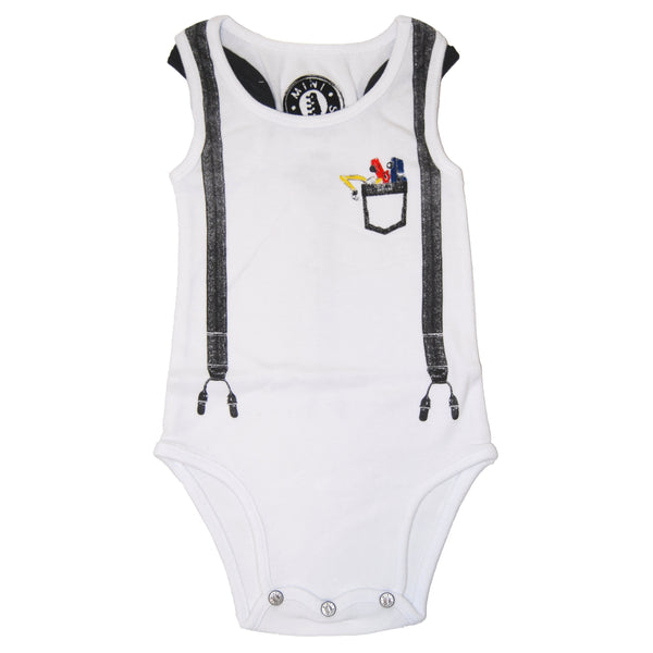Toy Cars Tank Top Bodysuit by: Mini Shatsu