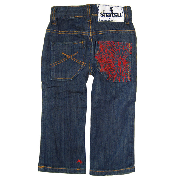 Webster Blue Denim Baby Jeans by: Mini Shatsu