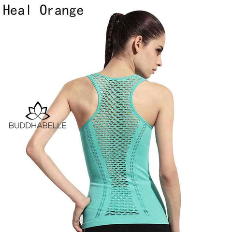 Open Back Trendy Yoga Shirts