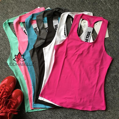 Just Do It Quick Dry Tank Tops (7 Colors Available) Athletic