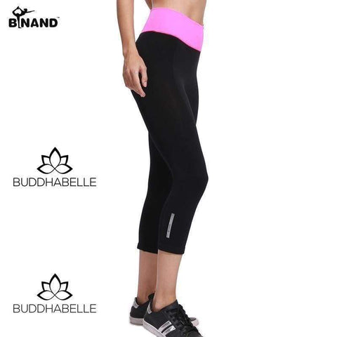 Breathable Sport Yoga Capris (5 Options To Choose From) Athletic