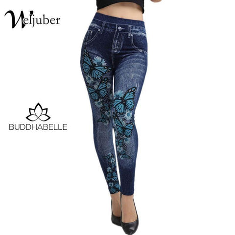 Butterfly Jeggings Athletic