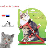 Pet Safe Adjustable Nylon Cat Harness And Leash Lover