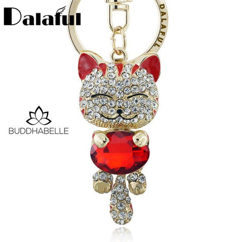 Lucky Smiley Cat Charm Lover