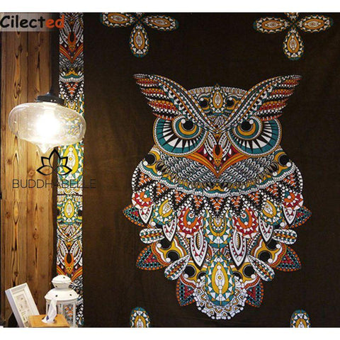 Owl Mandala Wall Hanging For Her