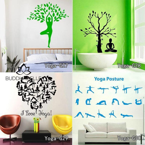 Zen Abstract Wall Decal Art