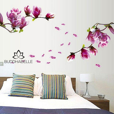 Tulip Flower Wall Sticker Art