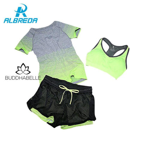3 Piece Fade To Fitness Set Athletic