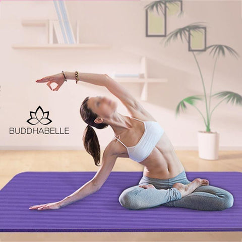 High Quality Multifunctional Yoga Mat With Sling Strap Athletic