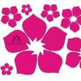 Removable Flower Wall Sticker Art